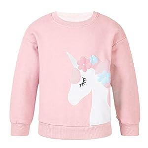 Agoky Sudadera Unicornios Camiseta de