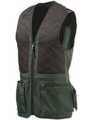 Beretta Schießweste TRAP Unisex Braun-Grün Cotton Vest