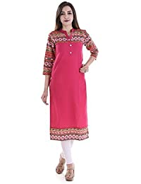 PURE COMFORT Women's Party Wear, Kurti,Long Kurtis For Women And Girls, Cotton Kurtis For Girls, Kurtis For Women...