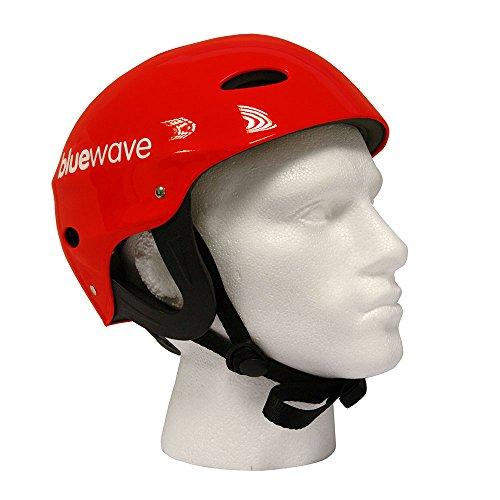 Red Watersport Helmet, Kayak, Canoe, SUP (Large: 55-61)