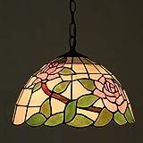 Deckenleuchte Uk-Rose Garden Cafe Restaurant Continental Schlafzimmer Balkonlampe Bügeleisen An Einem Kronleuchter kuikhgghg