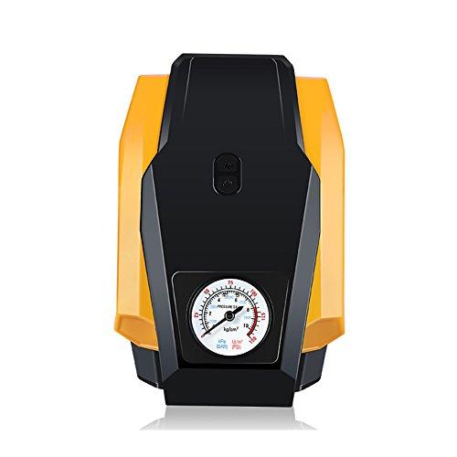 Tragbare Reifen-Luftpumpe, 12V Luftkompressor-Reifen-Pumpe, LED-Digitalanzeige Reifen-Inflation, Minipumpe Auto-aufblasbare Elektrische Pumpe Notwendig Für Autos (40 Gun Blow)