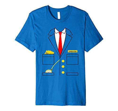 (Zug Leiter Kostüm T-Shirt für Erwachsene oder Kinder)