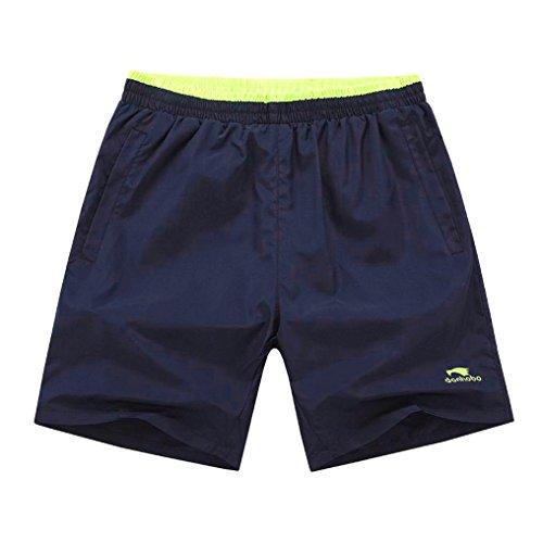 donhobo Herren Kurze Hosen Männer GYM Training Sport Shorts mit Taschen 3pack2