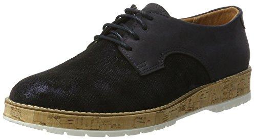 Comfortabel 950714, Chaussures À Lacets Pour Femmes Bleu (bleu)