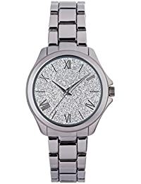 Spirit Ladies Analogue Round Silver Dial With Silver Bracelet Strap ASPL92X