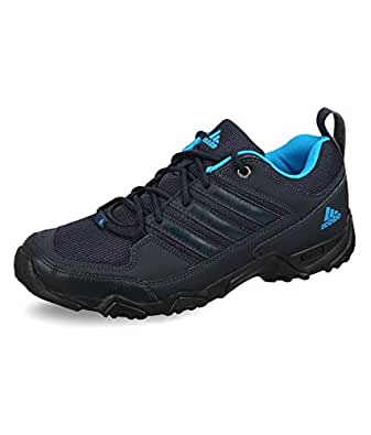 adidas Men's Xaphan Low Dark Blue, Blue and Black Mesh Sport Trekking and Hiking Footwear - Shoes - 12 UK