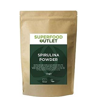 Spirulina Powder | Lab Tested for Safety | 1KG | Superfood Outlet