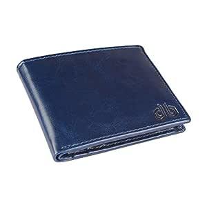 DESIGNER BUGS Men Blue Wallet (3 Card Slots)