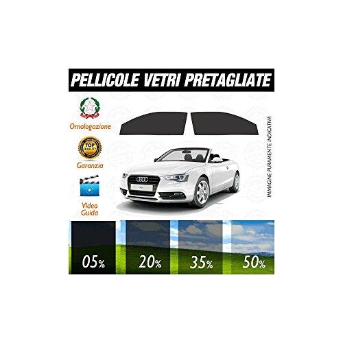 Audi A5 Cabrio 10-15 Pellicole Oscuramento Vetri Anteriori Auto Pre Tagliate a Misura - 35% - Audi A5 Cabrio