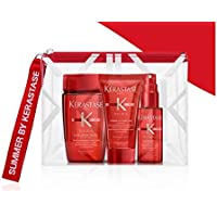 kerastase Kit mini size soleil shampoo 80ml + crema 50ml + spray 45ml + pochette omaggio