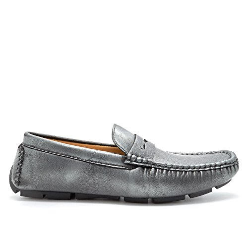 London Footwear , Sandales Compensées homme Gris