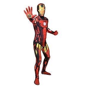 Morphsuits - Disfraz iron man adultos, talla M (MLZIRM)