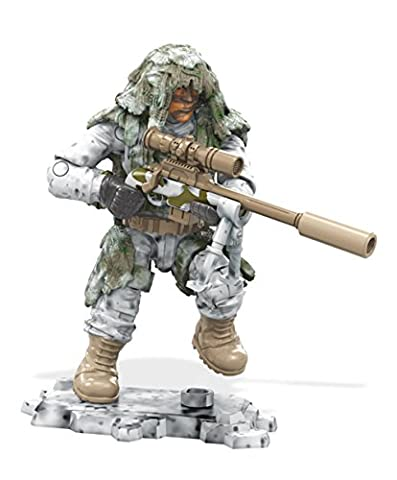 Mega Construx Bloks - Call of Duty Serie 1 FDY65 - Arctic Sniper Construction Set
