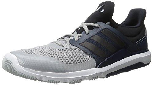 Adidas Zx Flux tessuto Formato dei pattini 13 Clear Onix Grey/Black/Collegiate Navy