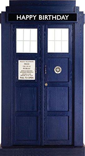 Preisvergleich Produktbild Doctor Who Tardis Happy Birthday Card (Geburtstag)
