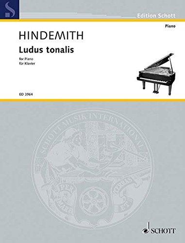 Ludus Tonalis: For Piano/ Fur Klavier