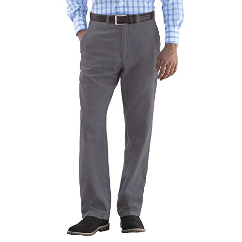 Mens Fully Thermal Lined Warm Chino Trousers with Stretch Elasticated Expanding Waist Navy, Beige and Graphite Grey.