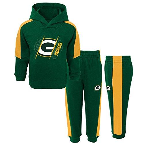 Fleece Hoodie Set (Green Bay Packers NFL Toddler