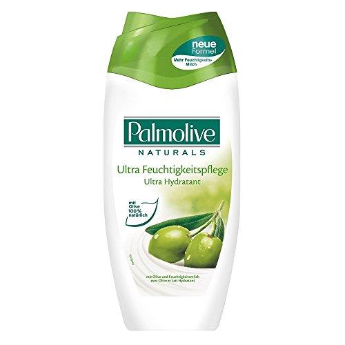 Palmolive Naturals Cremdedusche Olive und Feuchtigkeitsmilch, 6er Pack (6 x 250 ml)