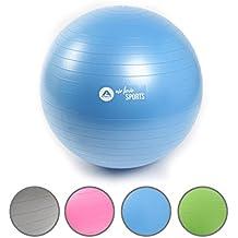 Bola de gimnasia anti-explosión de la marca Apollo, pelota de fitness robusta para sentarse con pompa - pelota para asiento cuidando la espalda para la ...