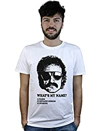 Camiseta Dj Giorgio Moroder, T-Shirt blanca, diversión de la canción de Daft Punk