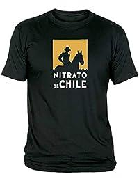 CamisetasEGB Camiseta Nitrato de Chile