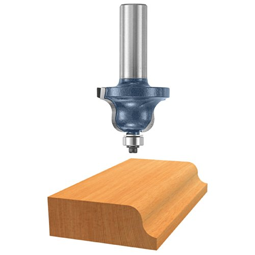 Bosch 85592M 1/4-Inch Cut 1/2-Inch Shank Roman Ogee Router Bit With Ball Bearing by BOSCH