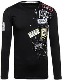 BOLF - Sweat-shirt – Classique - Manches longues – Fermeture éclair-Homme [1A1]