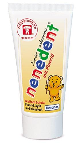 Nenedent Kinderzahncreme, 3er Pack (3 x 50 ml)
