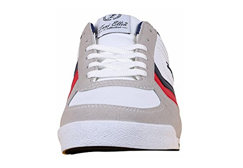 Toni Ellen® Tiger Erwachsene Herren Damen Unisex Schuhe Sneaker Sportschuhe - Gr. 40-44 Weiß