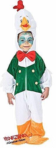 Fancy Me Italienische Herstellung Baby & Kleinkind Mädchen Jungen Ente Huhn Halloween Ostern Kostüm Kleid Outfit 12-36 Monate - 3 - Ente Kleinkind Kostüm
