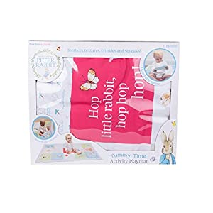 Beatrix Potter Peter Rabbit Tummy Time Activity Playmat