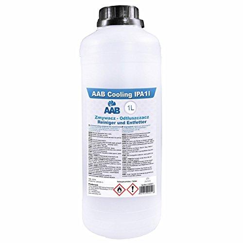 AAB Cooling IPA - Isopropanol / Isopropylalkohol / reinigungsalkohol / cleaner Klar 99,9{bcae0ded6fb22eb1b29cc0181fb641ab8d4503fc3326161cf2f939f64159bdba} 1000 ml