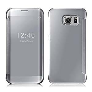 Vinnx Semi Transparent Mirror Flip Cover For Samsung Galaxy Note5