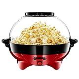 Gadgy ® Popcornmaschine l mit Antihaftbeschichtung l Still und Schnell l 5 Liter