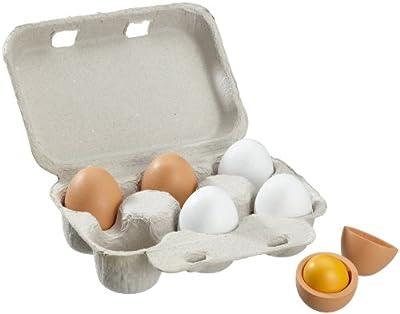 beluga 70827 - 6 Holzeier 6 cm im Eierkarton von Beluga - Du und dein Garten