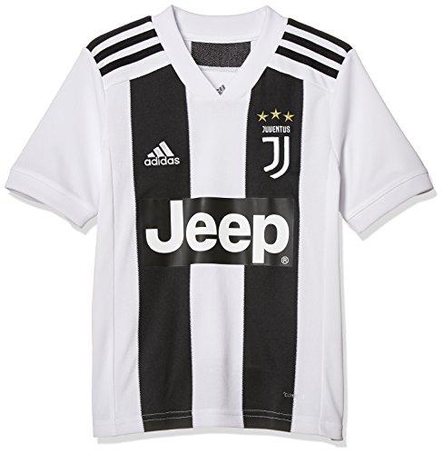 adidas Jungen Kurzarm Trikot Juve Home, Black/White, 152, CF3496