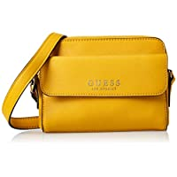 GUESS Womens Cross-Body Bag, Yellow - VG745314