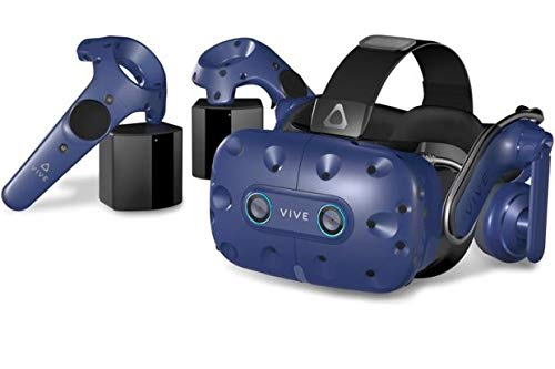 HTC Vive Pro Eye (2019) - Precision Eye Tracking Virtual Reality (VR) Headset Bundle - UK Stock