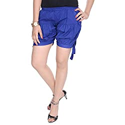Soundarya Womens Regular Fit Pants (HP3, Blue)