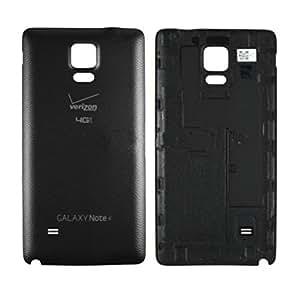 OEM Verizon Samsung Galaxy Note 4 SM-N910V Battery Door Back Rear Cover Black New