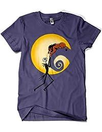 89058f521 Camisetas La Colmena 6039-Halloween King (Raffiti)