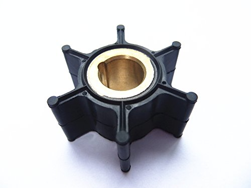 Boat Engine Impeller 389576 0389576 18-3091 for Johnson Evinrude OMC BRP 4HP 4.5HP 5HP 6HP 8HP 2-Stroke Outboard Motor Test