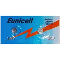Shipping with Tracking 4x Eunicell Batteries AG0Button LR63LR521SR521W 379[Camera]