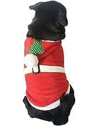 Ropa para Mascotas de Navidad, Gusspower Ropa de Invierno cálido cómodo Franela Sudaderas con Capucha Arbol de Navidad para Mascotas Gato Perro