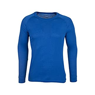 Mountain Warehouse Talus Mens Thermal Baselayer Top - Quick Drying Winter Jumper, Easy Care, Long Sleeves, Round Neck Sweater, Breathable, Lightweight & High Wicking 11