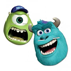 Disney Monsters University Party Face Masks - Pack of 4