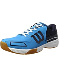 Wilson WRS322350E115, Zapatillas de Tenis Unisex Adulto, Azul (Hawaiian Ocean / Navy / White), 46 2/3 EU