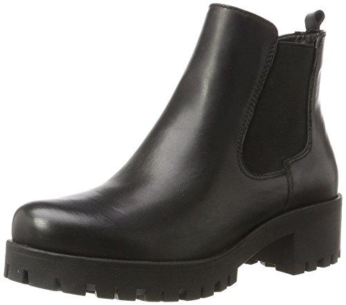 Tamaris Damen 25435 Chelsea Boots, Schwarz (Black Leather), 41 EU